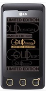 LG KP500 Cookie Gold Limited Edition